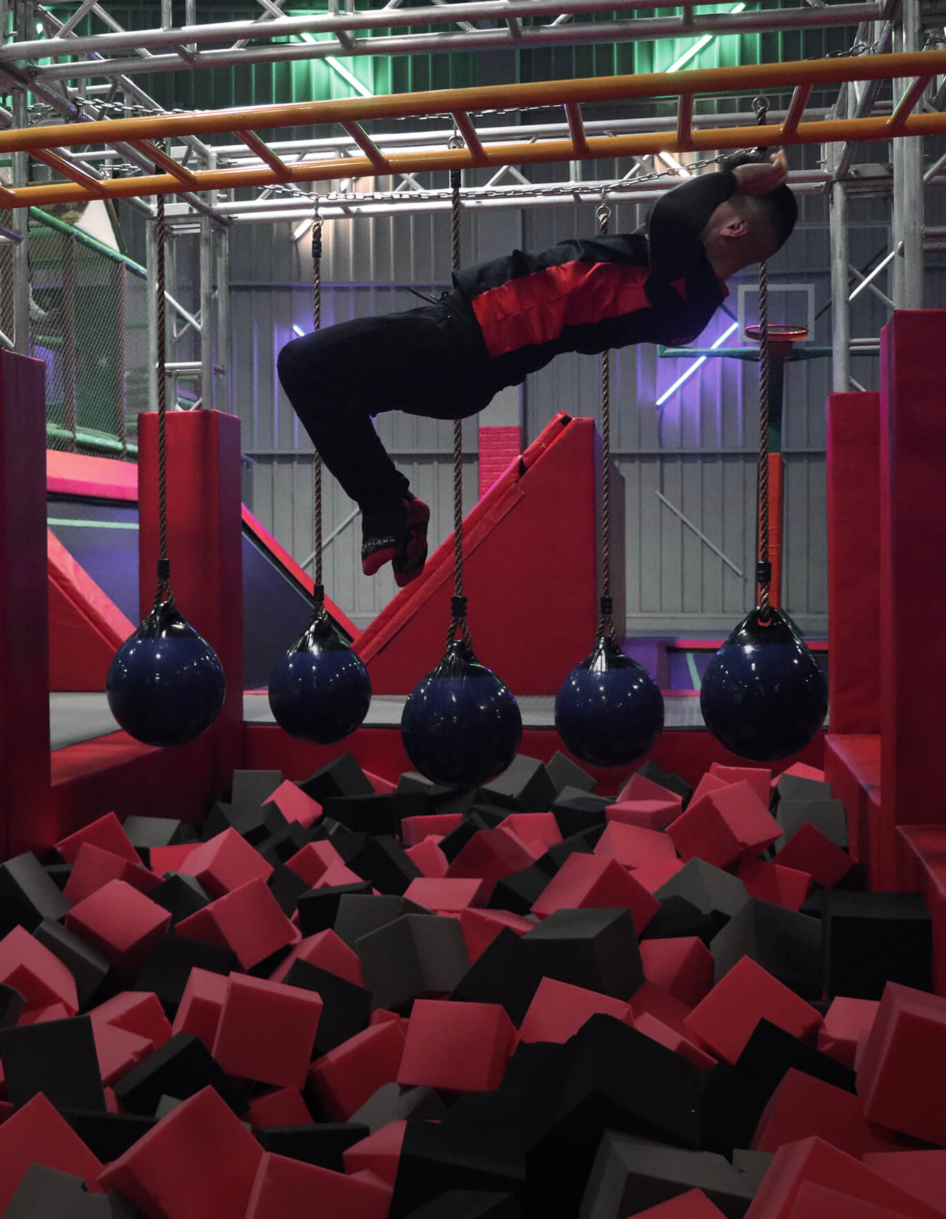 3 Des Ninja Course